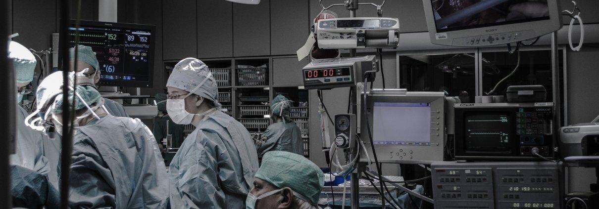 Krankenhaus OP